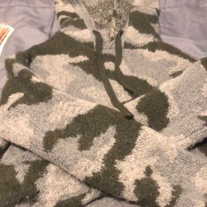 PINK camo sweater hoodie